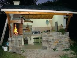 barbecue cuisine d été construire cuisine d ete barbecue cuisine d la cote salon la
