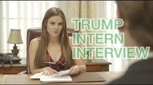trump s desk donald trump u0027s intern interview youtube