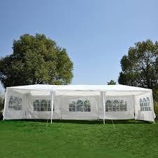 10 X 5 Canopy by 10 U0027 X 30 U0027 Gazebo Canopy Party Wedding Tent W 5 Removable Window