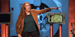 catherine tate convinces frank skinner to put underwear in room 101