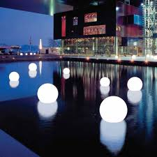 floating pool ball lights white moonlight courtesy moonlight usa inc parties