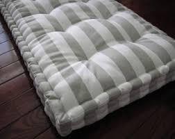 bench pad custom bench cushion ticking stripe window seat
