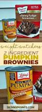 Weight Watchers Pumpkin Fluff Nutrition Facts by 2 Ingredient Pumpkin Brownies Weight Watchers Smart Points