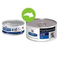 hill u0027s prescription diet feline z d food sensitivities at zooplus