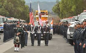 Color Guard Presentation Of The Flags Sbc Fire Honor Guard Santa Barbara County Fire Department
