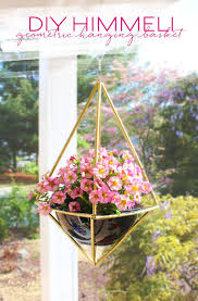 Diy Hanging Planter by 365 Designs Diy Geometric Himmeli Hanging Basket