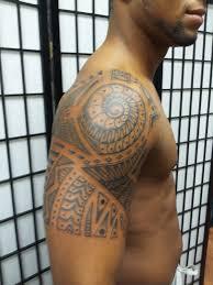 jersey tattoo tribal polynesian style tattoo