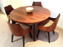 mid century modern round dining table mid century modern round dining table coffee wood round dining