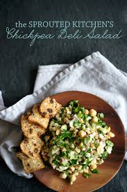 kitchen recipes chickpea deli salad from the sprouted kitchen a side of sweet