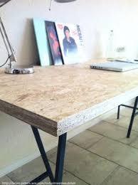 bureau of met bureau met industriële look die tevens te gebruiken is als eettafel
