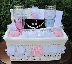 bridal gift wedding shower gift basket themes lading for