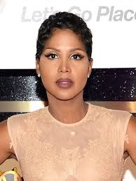 twa pixie on long hair toni braxton makeup google search makeup pinterest toni