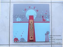 thermometre chambre thermomètre chambre enfant bébé personnalisable hauteur