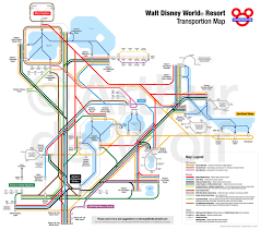 Map Of Walt Disney World by Walt Disney World Transportation Map Waltdisneyworld