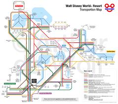 Map Of Downtown Disney Orlando by Walt Disney World Transportation Map Waltdisneyworld