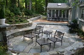 Small Paver Patio by Your Patio Stone Pavers Concrete Or Revolutionary Gardens