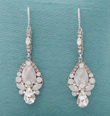 white opal earrings new earrings in the bridal salon bridal blog