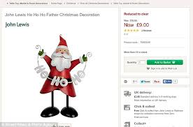 Easter Decorations John Lewis by John Lewis Trying To Sell Christmas Stock Despite 7m On