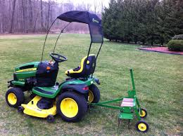 john deere lawn dethatcher attachment pictures to pin on pinterest