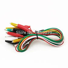 roach clip brand new 10pcs alligator electrical diy test leads