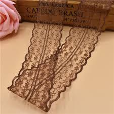 wholesale lace ribbon wholesale 10yards 45mm width brown lace ribbon diy decorative lace