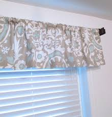 Suzani Curtain Powder Blue Taupe Suzani Curtain Valance Custom Sizing Available