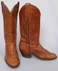 womens boots frye vintage s laredo leather cowboy boots w fringe