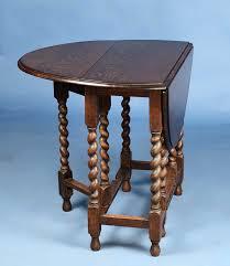 Narrow Drop Leaf Table Narrow Oak Antique Gate Leg Drop Leaf Side Table