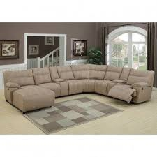 Sectional Reclining Sofas Leather Theater Sectional Reclining Sofa Foter