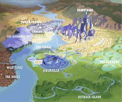 Map Of Epcot Zootopia At Animal Kingdom Page 11 Wdwmagic Unofficial Walt