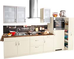 Kueche Kaufen Mit Elektrogeraeten Küchenzeile Mit Elektrogeräten Peru Breite 270 Cm Bestellen Baur