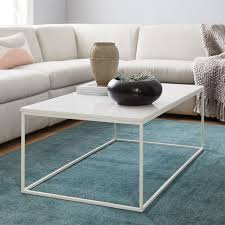 streamline coffee table west elm streamline coffee table white quartz west elm favorites