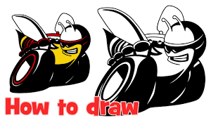 logo dodge how to draw pack badging logo bee from dodge challenger youtube