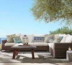 Sectional Pottery Barn Outdoor Sectionals Pottery Barn