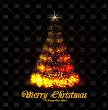 beautiful shiny tree background vector clipart image