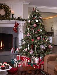 fraser fir with a peppermint twist christmas tree decorating ideas