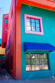 Adobe House by Tucson Arizona Aug 10 Colorful Adobe House In Historic