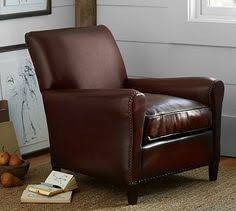 Pottery Barn Leather Chair Armchairs Living Room Chairs Accent Chairs U0026 Arm Chairs
