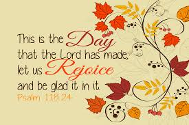 thanksgiving day bible verse