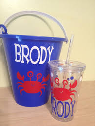 personalized buckets diy personalized pail ring bearer flower girl gift idea for