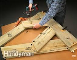 Simple Wood Bench Instructions by Build A Wooden Bench For Less Family Handyman