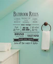 Pictures For Bathroom Wall Decor by Wallquotes Com By Belvedere Designs U0027bathroom Rules U0027 Wall Quotes