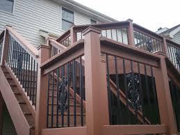 unique deck railing designs inspirations for deck railing