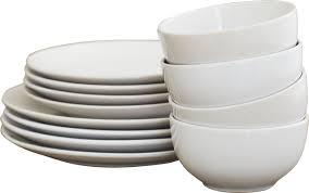 Corelle 12 Piece Dinnerware Set Wayfair Basics Wayfair Basics 12 Piece Stoneware Dinnerware Set