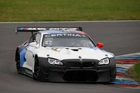 bmw m6 modified intensive further development for bmw motorsport customer teams