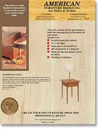 shaker end table plans shaker end table plan lee valley tools