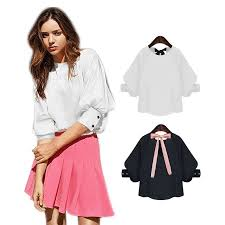 Blouse With Big Bow Popular Big Bow Blouse Women Buy Cheap Big Bow Blouse Women Lots