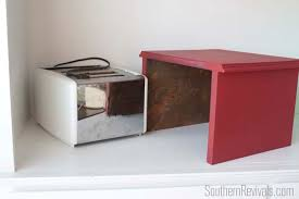 Toaster Covers Faux Apothecary Cabinet Toaster Cover Southern Revivals