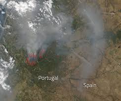 Wildland Fire News Washington State by Massive Forest Fire Claims Lives In Portugal Nasa