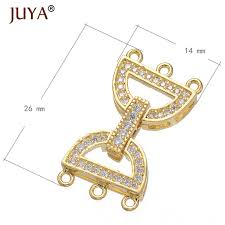 necklace making accessories images Jewelry findings accessories fit for hand made diy 3 rows multi jpg